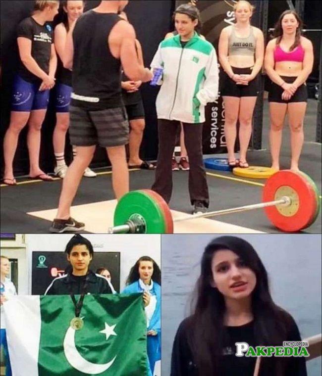 Rabia is making Pakistanis proud on an international level