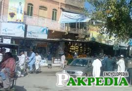 Main bazar of Mianwali