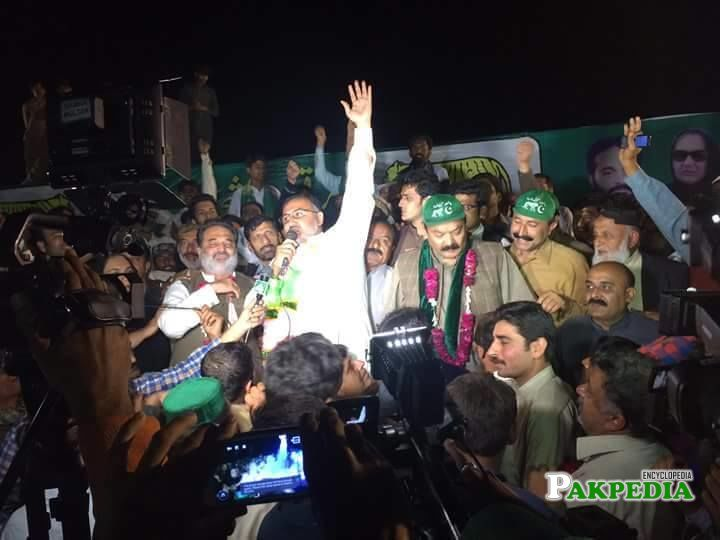 After victory in NA153