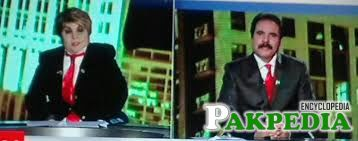 Ashraf Khan in News Chanel