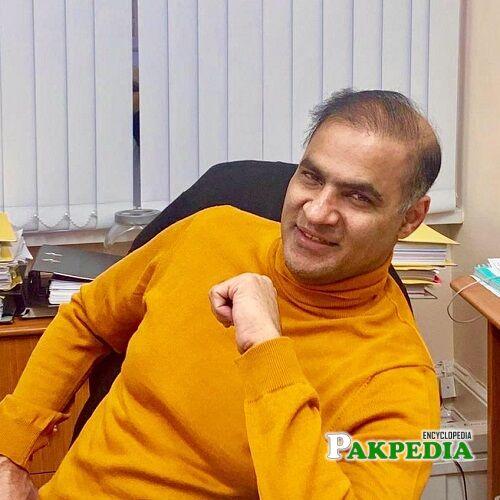 Abid Sher Ali education