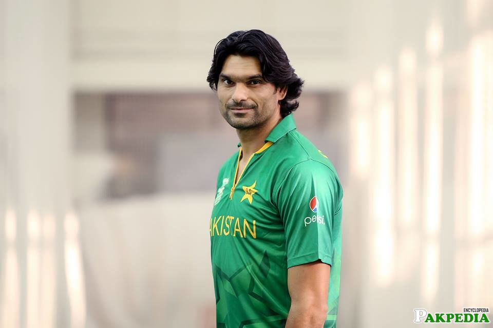 Mohammad Irfan is Fastest Bowler