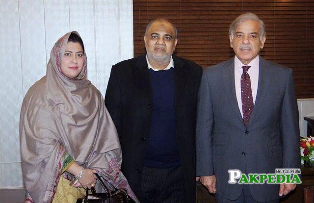 With Shehbaz Sharif