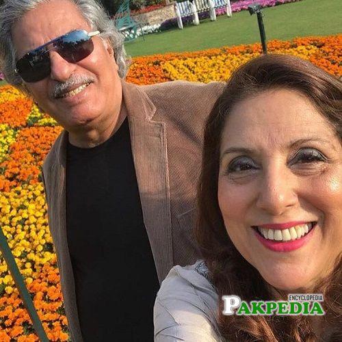 Samina Peerzada Family