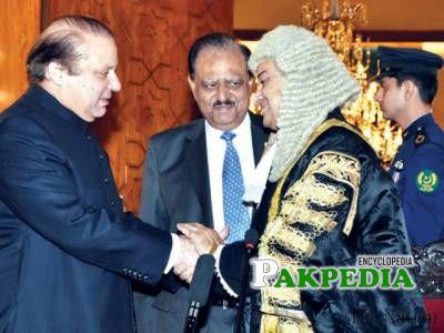 With Nawaz Sharif