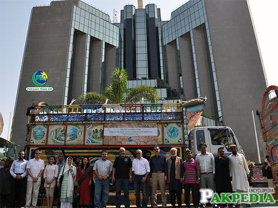Group Photo Front Of Headquarter