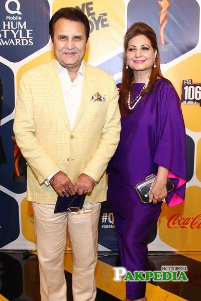 Behroze Sabzwari Wife
