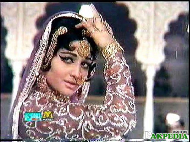 Film actress Rani while performing in cinema