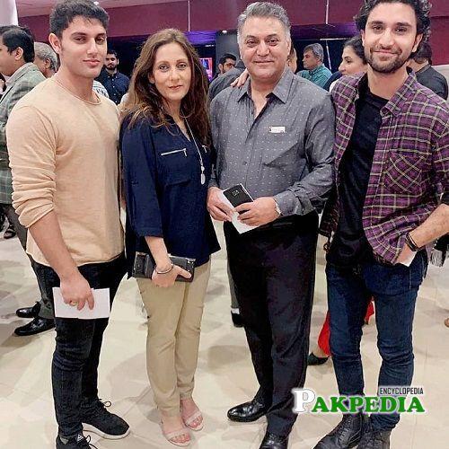 Asif Raza Mir Family