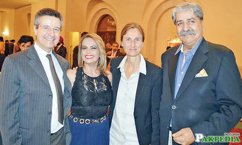 Ambassador of Brazil with his wife