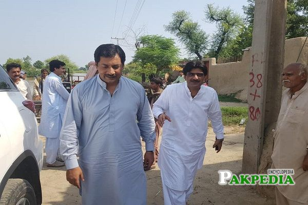 Malik Ahmad Saeed Khan functioned as a member for the Standing Committee on Cooperatives and Food