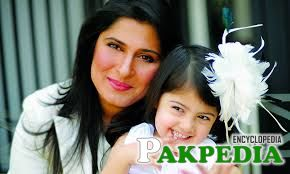 Sharmeen Obaid-Chinoy with her daughter Amelia