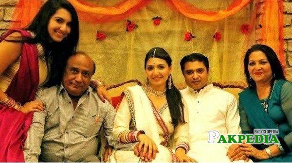 Mehreen Rizvi Family