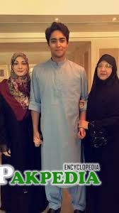 with mother and grandma