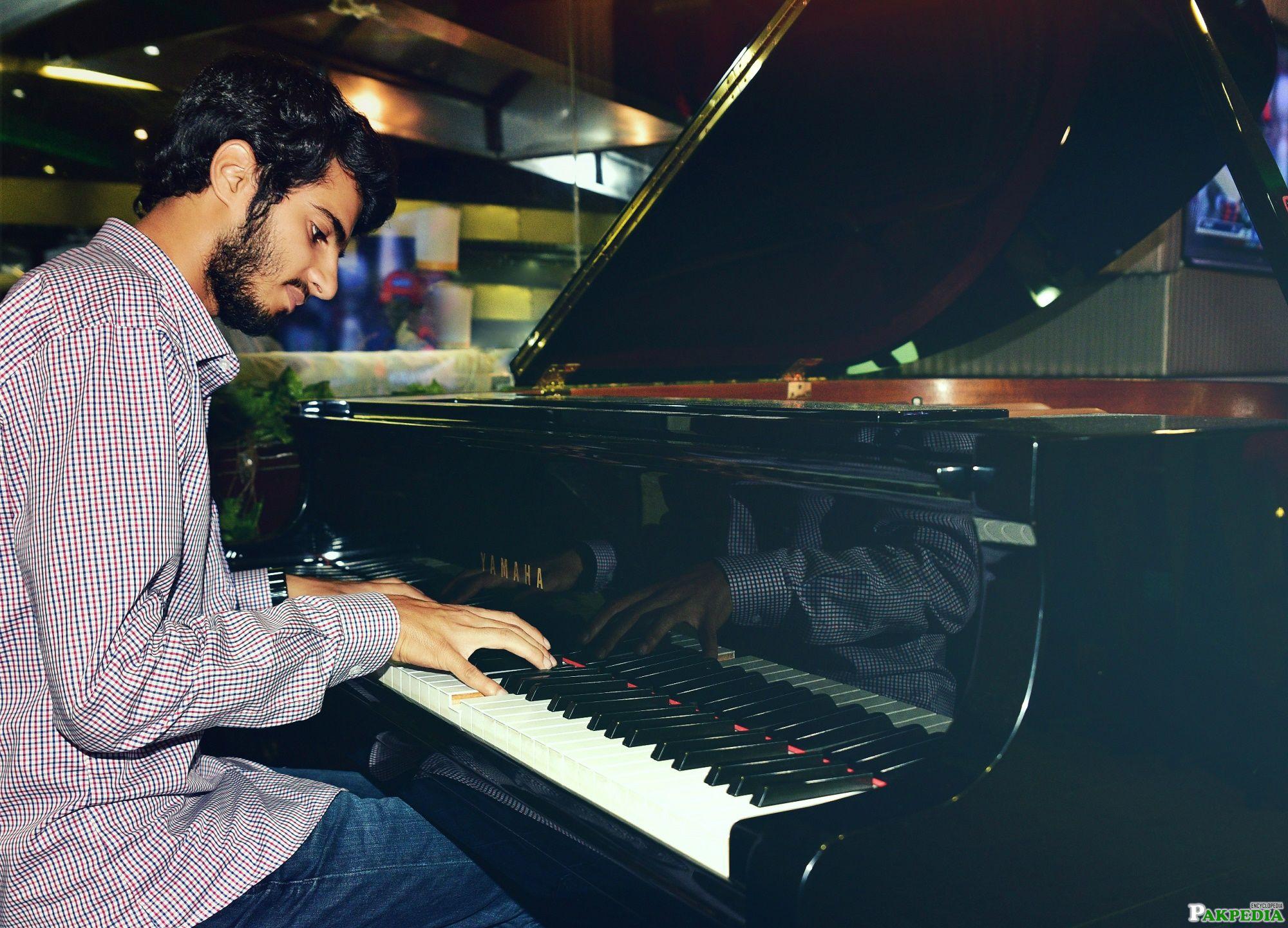 Ashir While Singing