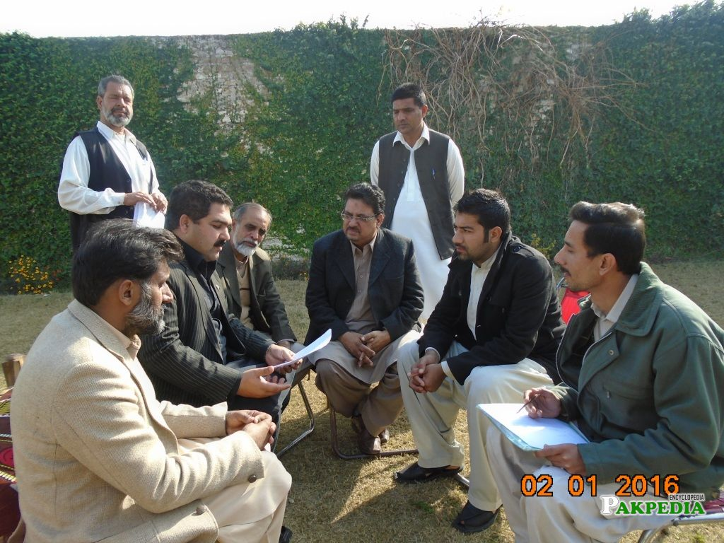"Meeting with Babar Nawaz Khan (MNA) on ""Electoral Reforms"""