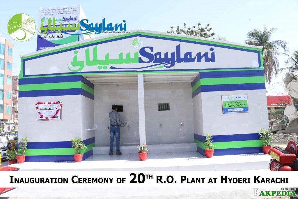 Saylani Welfare Trust office in Karachi