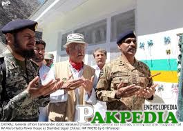 Asif Ghafoor is praying at opening
