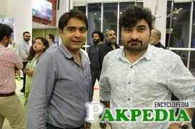 Danish Nawaz with Irfan Motiwala