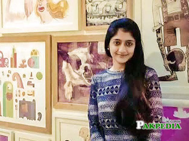 a first pakistani female visual effect artist Laraib atta