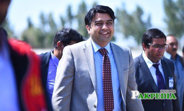 Politician, educationist and Landlord Yasir Humayun