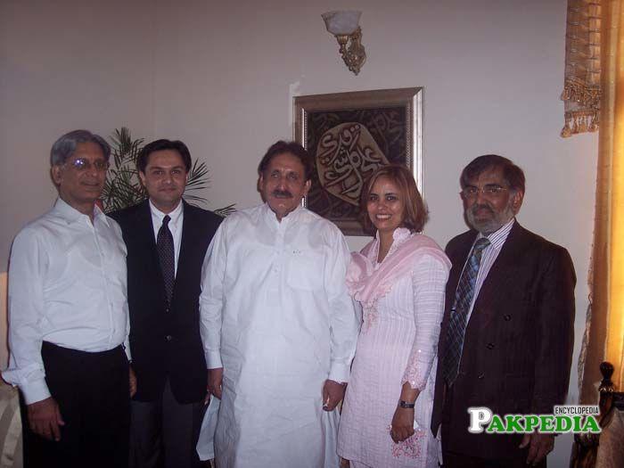 Aitazaz Ahsan, Dr. Mohammad Taqi, Chief Justice Iftikhar Muhammad Chaudhry, Dr. Amna Buttar and Dr. Ashraf Toor
