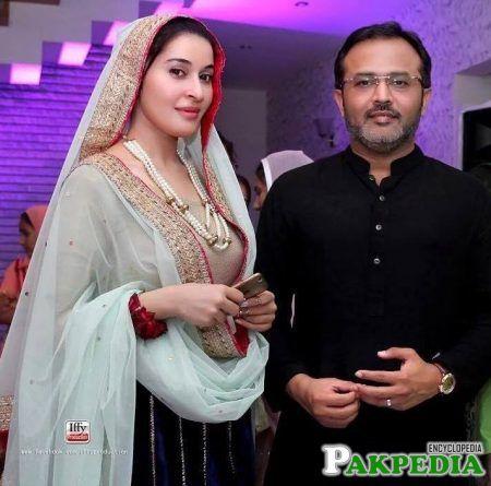 Shaista with her 2nd husband