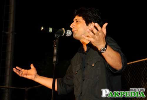 Jawad Was singing