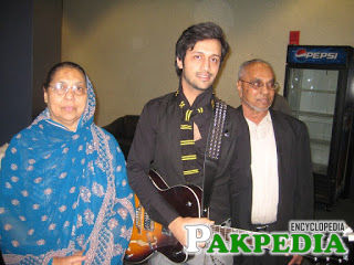 Atif Aslam Mother and Father
