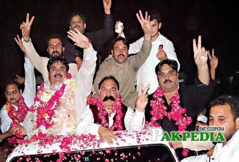 Welcome Rally of PMLN Candidate Rana Mehmood-ul-Hassan in PP 196 Multan