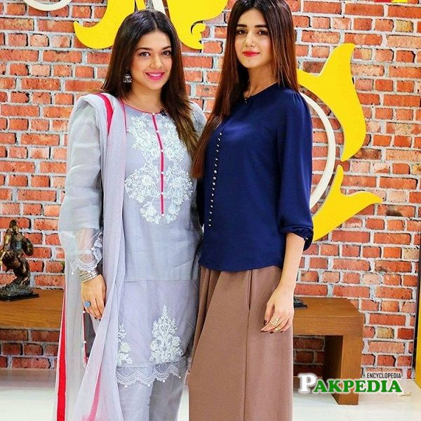 Anum Fayyaz with Sanam Jung