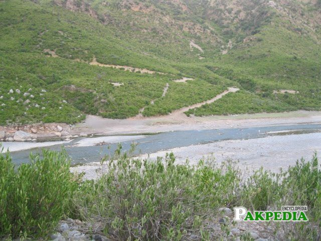 Stopped at the Haro River at M1 Motorway Just After Burhan Interchange on 16 Aug 2012