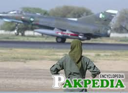 Pakistan Air Force Lady Pilot