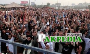 Protestors of TLP Party
