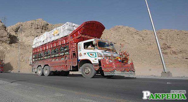 Dera Murad Jamali Trucks