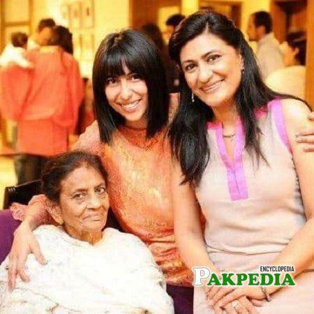 Saba Hameed Family