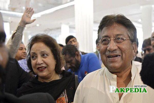 Pervez Musharraf Family