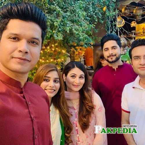 Mureed Abbas with his family