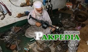 Gun making-Bread nd butter of people of Adam Khel
