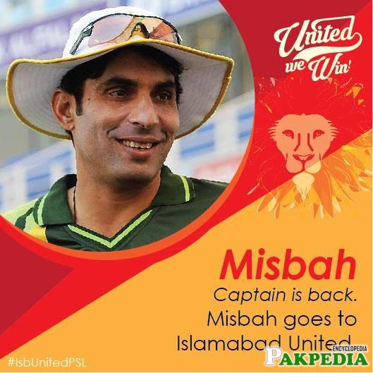 Islamabad United Captain Team