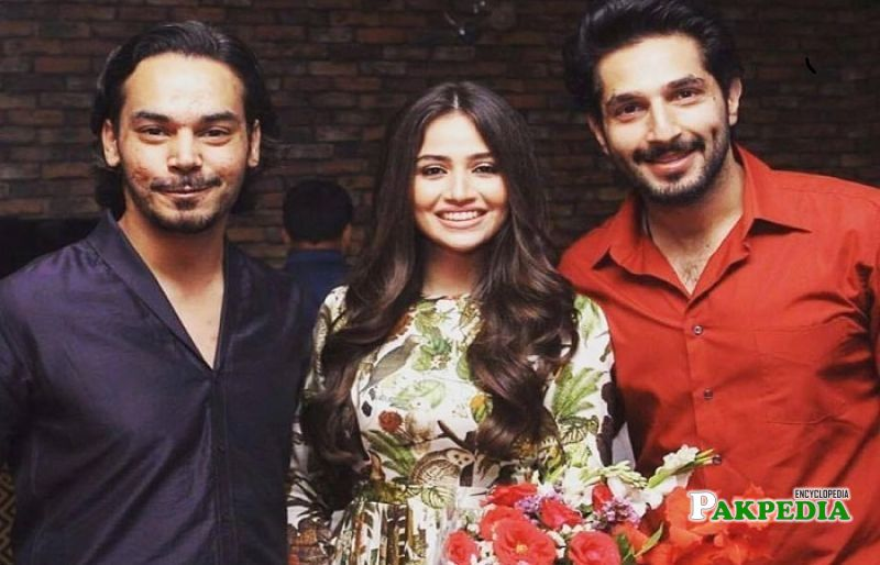 Sana Javed with Bilal Ashraf and Gohar Rasheed