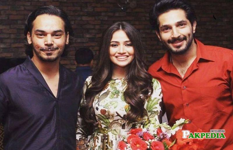Sana Javed with Bilal Ashraf and Gohar Rasheed