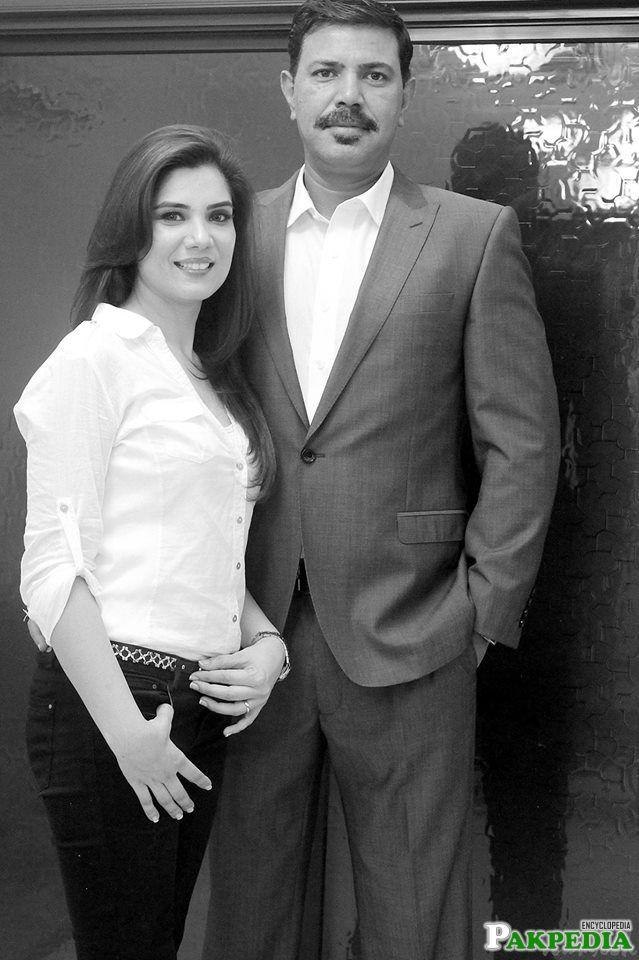 With Bushra Azeem