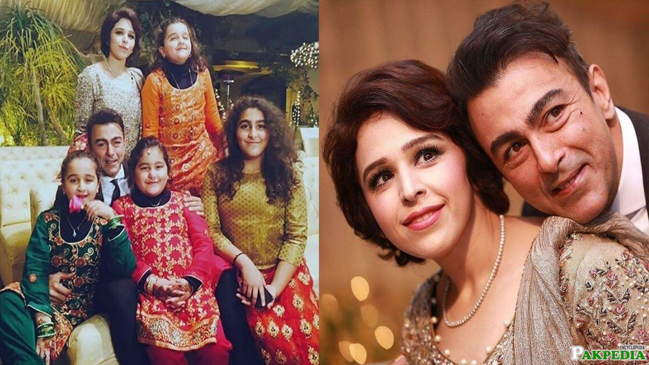 Shaan Shahid With Family