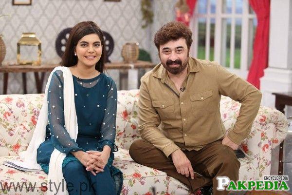 With Nida Yasir