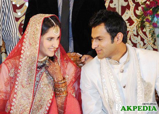 Shoaib Malik Wedding Picture