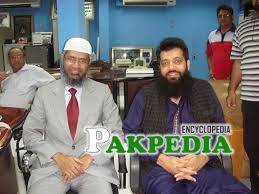 With Zakir Naik