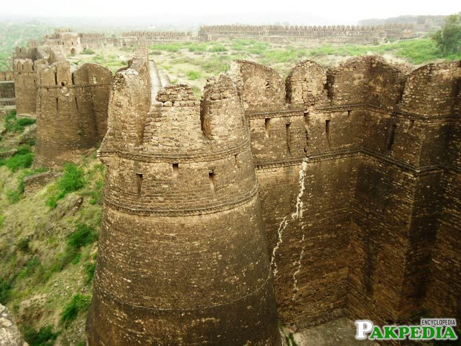 Rohtas Fort Outside