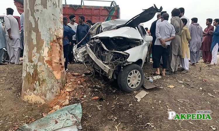 Son of Qamar Zaman died in a road accident