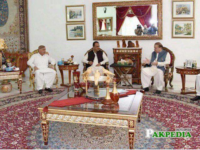 Met With Former Prime Minister Nawaz Sharif